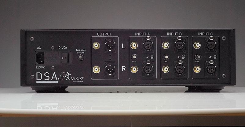 Phono II back image