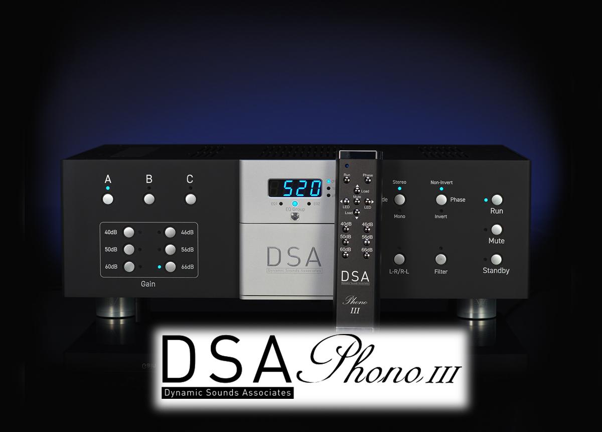 DSA Phono III